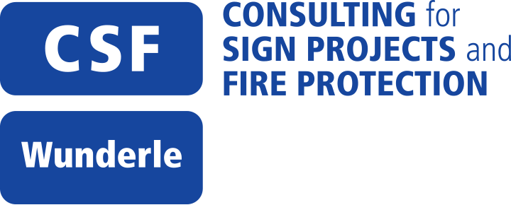 CSF Wunderle – Consulting for Sign Projects and Fire Protection